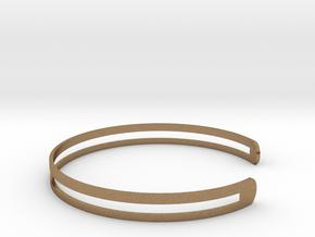 Bracelet Ø58 Mm S/Ø2.283 inch in Natural Brass