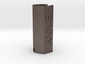 ANNIE ISU-Hex Helper in Polished Bronzed Silver Steel