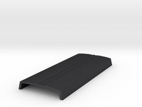 Mold V004_hollowNoSides in Polished and Bronzed Black Steel