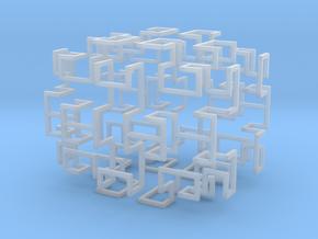 Gosper Pendant Web in Smooth Fine Detail Plastic