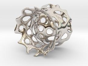 Eierbecher in Rhodium Plated Brass