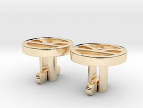 Kingsman Cufflinks in 14K Yellow Gold