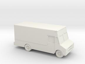 1/87 Step Van in White Natural Versatile Plastic
