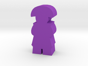 Game Piece, Colonial or Hairtauri Leader in Purple Processed Versatile Plastic