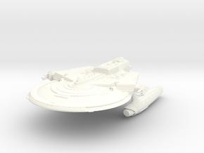 Soyuz Class Refit C in White Processed Versatile Plastic