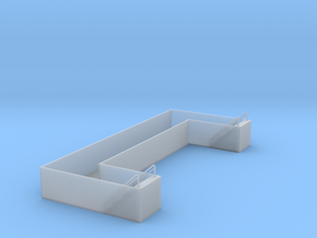 Railroad Engine Shed Inspection Pit in Smooth Fine Detail Plastic