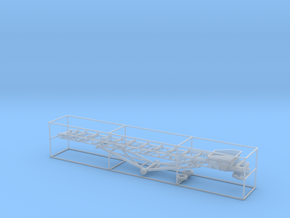 1/87th 36 foot material conveyor in Smooth Fine Detail Plastic