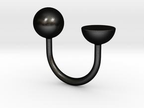 (in)complete - Size XS in Matte Black Steel
