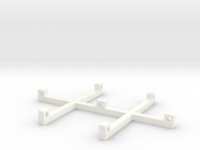 Universal Puppet Handle / Marionetten Griff in White Processed Versatile Plastic