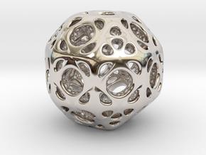 hydrangea ball 01 in Platinum