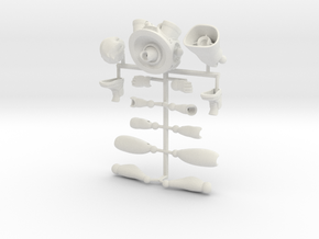 Sprint color figure in White Strong & Flexible