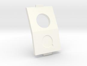 QAV210 / QAV180 / QAV-R 30 degree CAM mount in White Processed Versatile Plastic