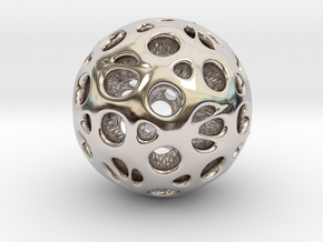 hydrangea ball 05 in Platinum
