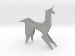 Gaff's Unicorn | Blade Runner Origami in Raw Aluminum
