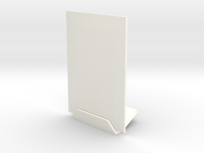 Portrait 3dphoto 2 X 3 Inches in White Strong & Flexible Polished