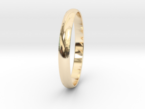Ring Size 6.5 Design 3 in 14K Yellow Gold