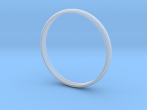 Ring Size 8 Design 3 in Smooth Fine Detail Plastic