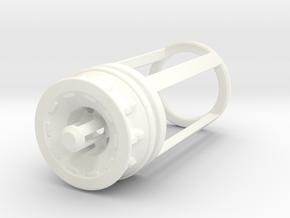 Blade Plug - Ilum in White Processed Versatile Plastic