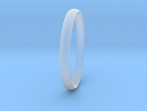Ring Size 10 Design 4 in Smooth Fine Detail Plastic