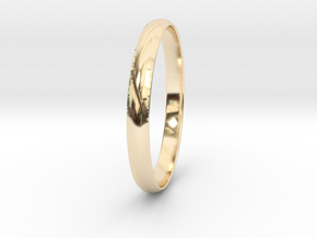 Ring Size 8.5 Design 4 in 14K Yellow Gold
