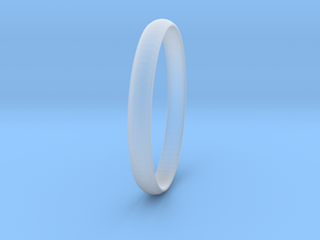 Ring Size 8.5 Design 4 in Smooth Fine Detail Plastic