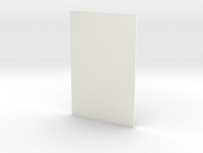 150 X 100 Photo in White Processed Versatile Plastic