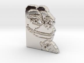 Pepe Pendant in Platinum