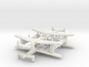 Avro Lancaster 1/900 x4 in White Natural Versatile Plastic