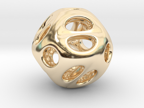 Chinese Jade 02 in 14K Yellow Gold