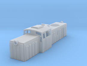 SM42 Diesel Loco Z Scale in Smooth Fine Detail Plastic