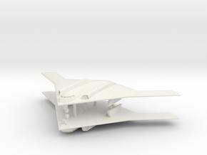 1/700 Long Range Strike Bomber (LRS-B) (x2) Landed in White Natural Versatile Plastic