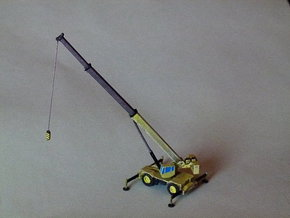 Rough Terrain Crane (Grove RT 800) 1/160 N-Scal in Smooth Fine Detail Plastic