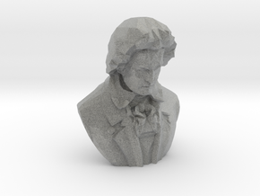 Ludwig van Beethoven in Metallic Plastic