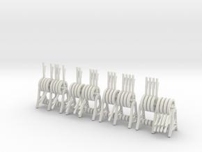 Wisselhandel (1:43,5) in White Natural Versatile Plastic