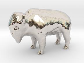 Miniature Bison in Platinum