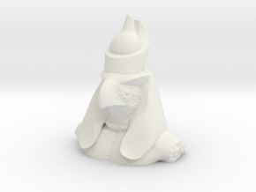 Horus- Ancient Egyptian God in White Natural Versatile Plastic