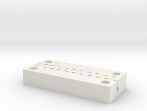 Stickvise - Interlocking V-jaws - Pair in White Strong & Flexible
