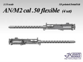 1/35 AN/M2 cal .50 flexible (4 set) in Frosted Extreme Detail