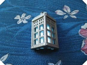 Tardis Lantern 2: Tritium (All Materials) in Polished Nickel Steel