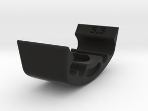 Cable Guide 4x in Black Natural Versatile Plastic