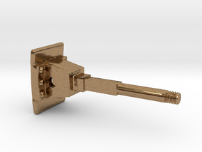 Rollbock Puffer 5x3 V1.6 in Natural Brass: 1:22.5