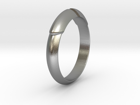 Ø21.75 Mm Arrow Ring/Ø0.856 inch in Natural Silver