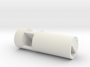 Arcann Lightsaber - Chamber in White Natural Versatile Plastic