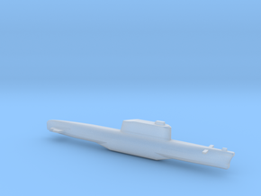 Golf-Class Ballistic Submarine, Full Hull, 1/2400 in Smooth Fine Detail Plastic