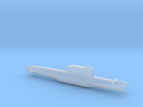 Golf-Class Ballistic Submarine, Full Hull, 1/1800 in Frosted Ultra Detail