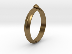 Ø18.19 mm /Ø0.716 inch Arrow Ring Style 2 in Natural Bronze