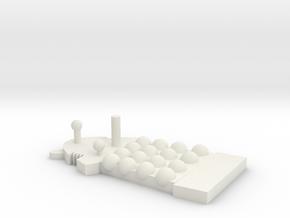 Dalek-danny in White Natural Versatile Plastic
