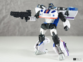 Transformers CHUG Machine Pistol in Black Strong & Flexible