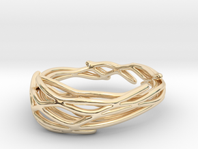 Coronation Ring (Size 4.5--14.8mm dia)R S1 0102007 in 14K Yellow Gold