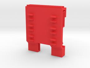 CW Hot Spot in Red Processed Versatile Plastic